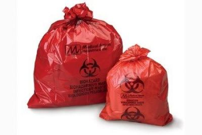 Red Infectious Waste Bag