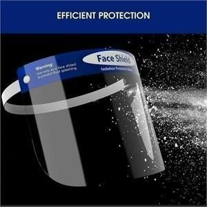 "Face Shield, 9"" w/Foam Band - Each"