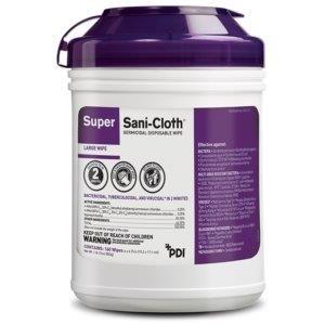 Super Sani-Cloth Germicidal Wipe - Canister