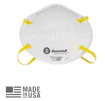 Shawmut Protex NIOSH N95 Face Mask - Box